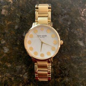 Kate Spade Gold Polka Dot Watch